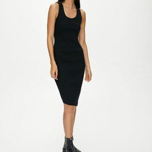 Aritzia Wilfred Free Bruni Black Dress